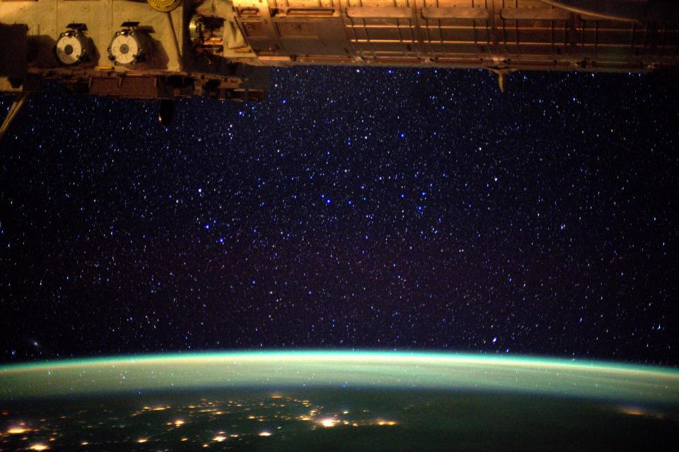The Earth from the International Space Station